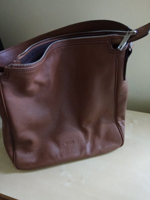Bree Hobos brown leather