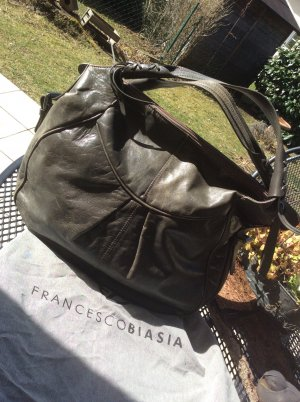 Francesco Biasia Hobos anthracite leather
