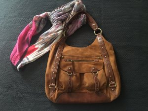 Crossbody bag brown no material specification existing