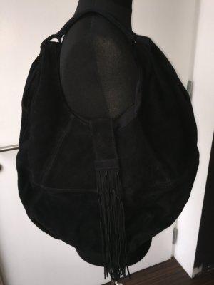 HOBO XL Tasche Wildleder mit Fransen