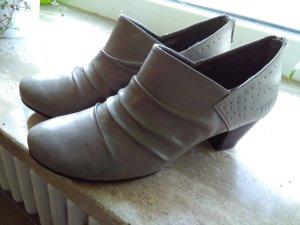 Viventy Chaussure à talons carrés argenté