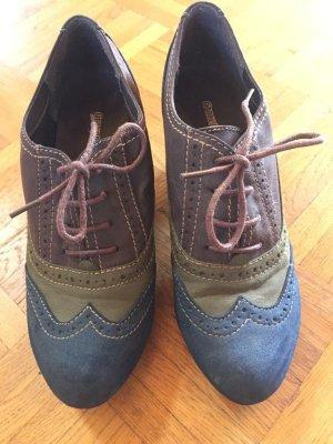 Graceland Chaussure à talons carrés multicolore