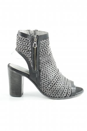 High-Front Pumps grey-light grey party style