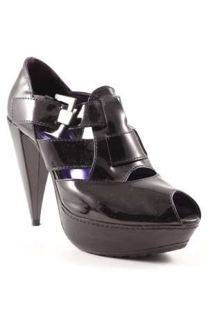 High-Front Pumps black party style