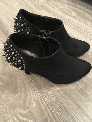 Graceland Décolleté accollato nero-argento Fibra tessile