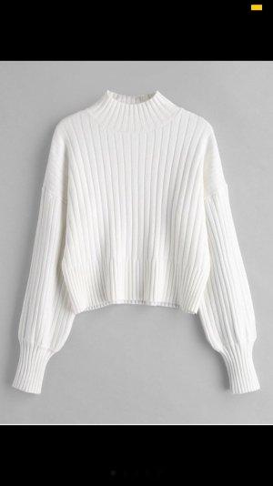 Jersey largo blanco