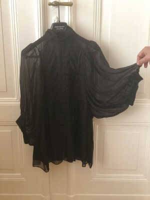 Zara Silk Top black silk