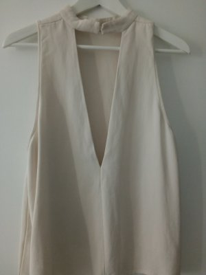Woman Collection H&M Top cut-out bianco
