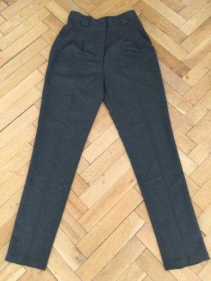 Hochgeschnittene Hose von American Apparel, dunkelgrau, Größe S