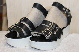 Hochwerige Leder Sandaletten von Bueno Größe 36 NEU