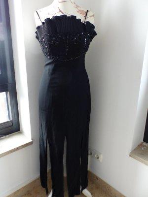 hochwertig schwarzes Abendkleid mit Pailetten Highlight - super Zustand