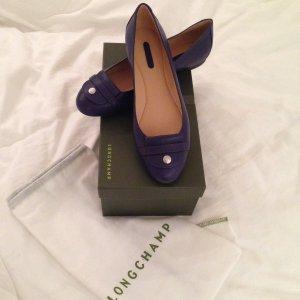 Longchamp Grau Blau