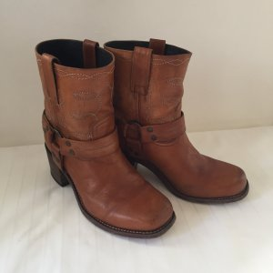 Sendra Western Booties cognac-coloured-brown