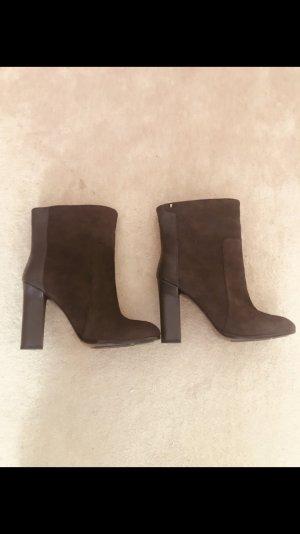 Furla Slip-on Booties brown