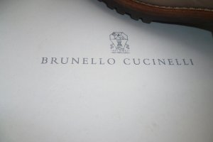 Brunello Cucinelli Fur Boots sand brown leather