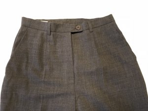Louis Feraud High Waist Trousers anthracite-taupe
