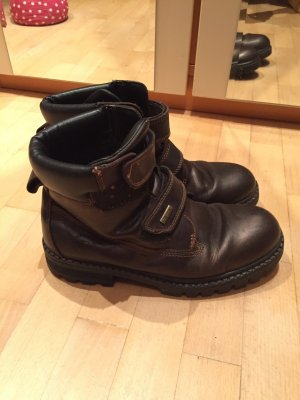 Boots brown red