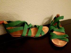 Waschbär Comfort Sandals green-forest green