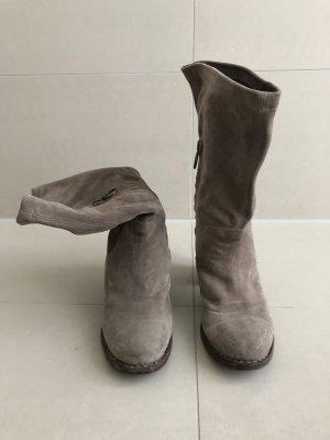 Hochwertige Fiorentini + Baker Boots aus Wildleder - Größe 38
