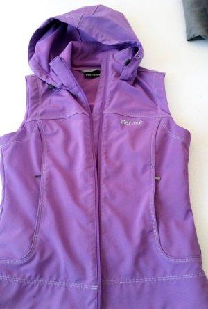 Marmot Gilet de sport violet foncé