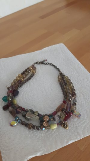 Necklace light brown
