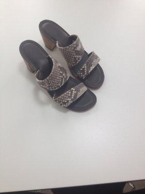 Hochwertige Leder Sandalette
