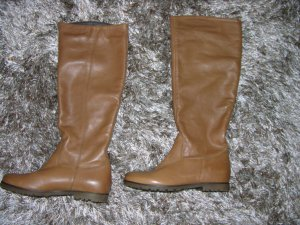 Cox Jackboots light brown leather