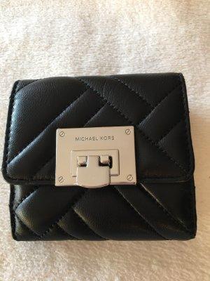Michael Kors Cartera negro-color plata