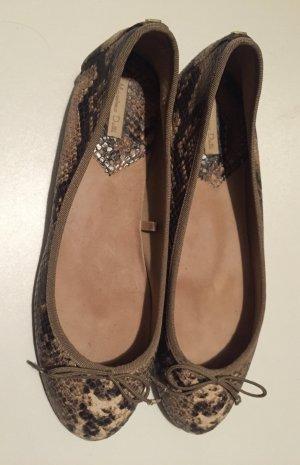 Hochwertige Massimo Dutti Ballerinas aus weichem Leder