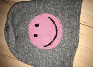Hochwertige Mütze mit Smiley