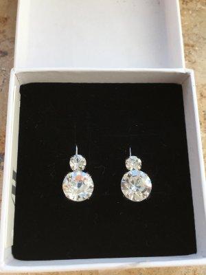 Hochwertige Ohrringe aus Kristallen NEU