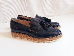 Hochwertige Pertini Lack Loafer Gr. 40