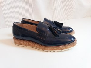 Pertini Slippers blue-dark blue