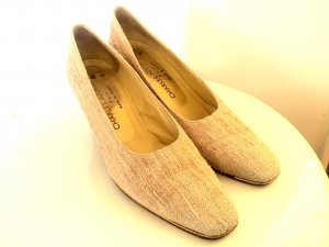 Charles Jourdan Loafers oatmeal-gold-colored