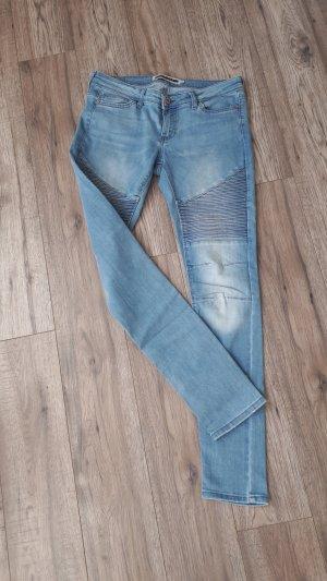 Noisy May Tube Jeans azure