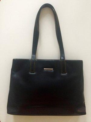 hochwertige schwarze Damentasche von FOSSIL * Shopper * Leder