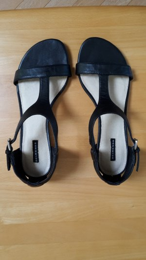 Belmondo Sandals black leather