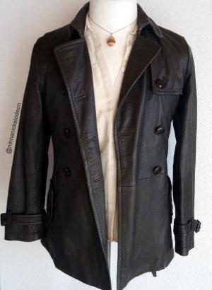 hochwertige, sehr weiche Lederjacke mit Gürtel von Marc O'Polo