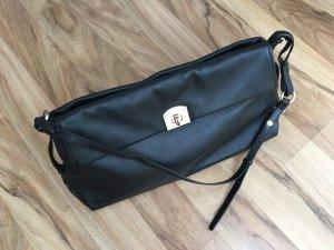 Hochwertige Sergio Rossi Lederhandtasche schwarz