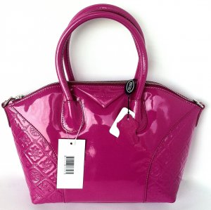 SIlvio Tossi Carry Bag pink leather