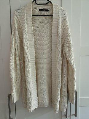 Vero Moda Coarse Knitted Jacket natural white