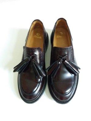 Fred de la bretoniere Zapatos formales sin cordones burdeos-rojo amarronado