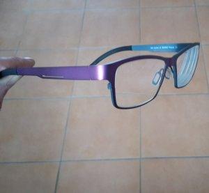 Hochwertige Titanbrille von Orgreen