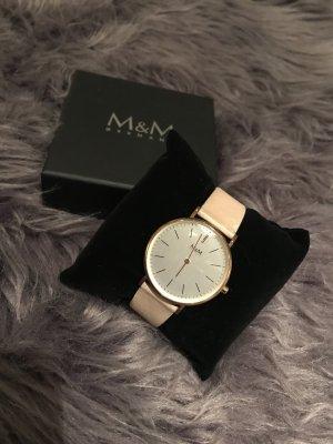 Hochwertige Uhr von M&M
