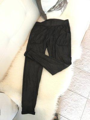 gwynedds Leren broek zwart Polyester