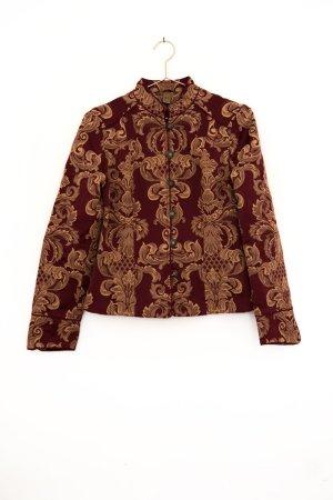 hochwertiger Brokat Blazer mit Tapestry Muster und kleinem Stehkragen