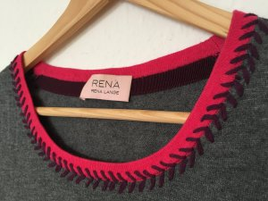 Hochwertiger Designer-Kurzarmpullover von Rena Lange