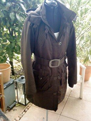 hochwertiger dunkelbrauner Wintermantel von Vero moda in Größe L