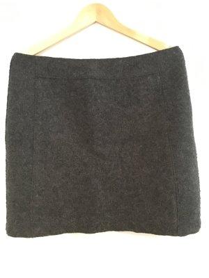 Hochwertiger dunkelgrauer Wollrock von Marc O'Polo Größe 42 Business Chic Winte