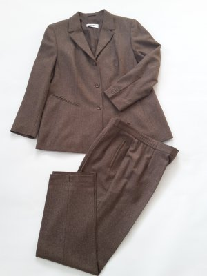 Gerry Weber Tailleur-pantalon marron clair-brun